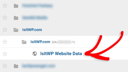 Sign in & select the right website